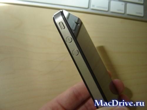 iPhone 4: вид сбоку
