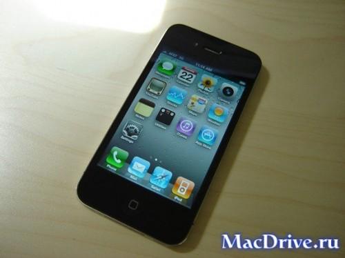 iPhone 4: вид сверху