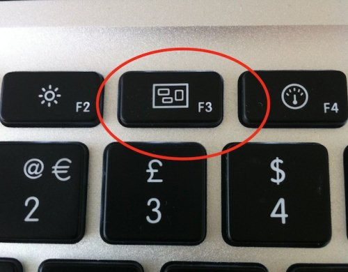 Кнопка запуска Expose