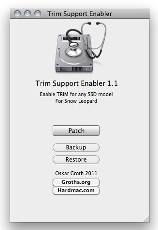TRIM Support Enabler