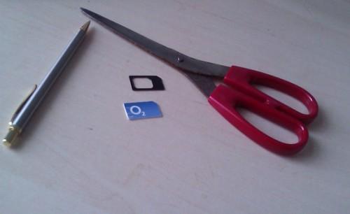 Набор для обрезки SIM